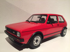 Otto Mobile - Scale 1/12 - Volkswagen Golf 1 GTI Red