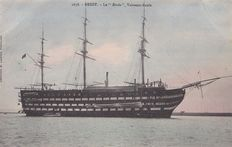 France - Ships French military navy school year 1900