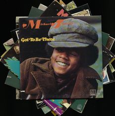 "Lot of eight original Michael Jackson and Jackson 5ive albums in fantastic collectors condition - Includes ""Got to be there"", ""Maybe tomorrow"", ""Music and me"", ""Get it together"" and more"