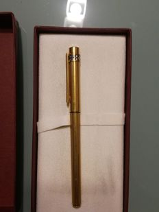 Cartier gold plated fountain pen