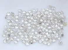 171 Round Brilliant Diamonds – 0.84 ct.