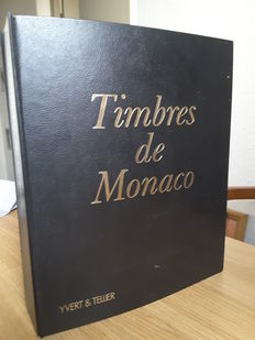 Monaco 1885/1993 - Collection well advanced in an album Yvert and Tellier - Yvert between n ° 1 and n ° 1914