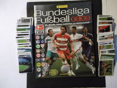 Panini - Bundesliga 2008/09 - Complete set of new stickers + 1 new empty album.
