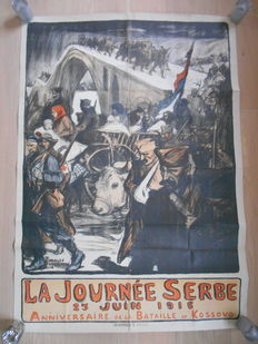 Authentic poster from Charles Fouqueray from 1916