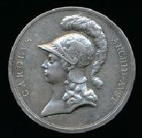 Roman German Empire - Silver Medal 1799 by Peter Baldenbach on the victory over French at Stockach - Pfullendorf