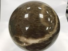 Top quality Agate sphere, with stand included - 17.5cm  - 10.40kg