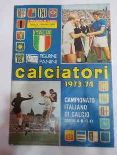 Panini - Italian football championship - Calciatori 1973-74 (football players) album - semi-complete.