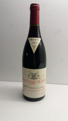 2005 Chateau Rayas Chateauneuf-du-Pape Reserve, Rhone – 1 bottle.