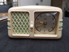Radio clock with music – Peter – Germany, 1960s