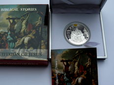 Palau - 2 Dollars 2016 'Biblical stories - the crucifixion of Christ' ½ oz silver