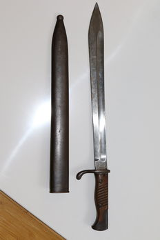 German Butcher bayonet WED 1 made by F.D. Lüneschloss Solingen