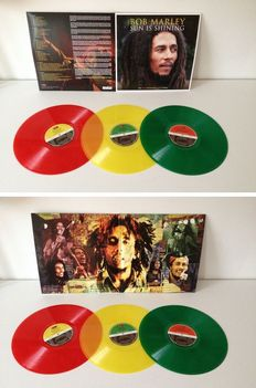 "Bob Marley 3 LP Set ""Sun Is Shining"" - Absolute Reggae Collectors  - Still Sealed !!"