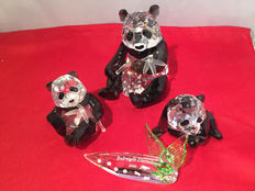 Swarovski - SCS Annual Edition - Pandas - extra Panda - title plaque: Endangered Species
