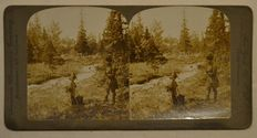 stereoscopic photography - Batch of 55 stereo photos  19th and 20th century