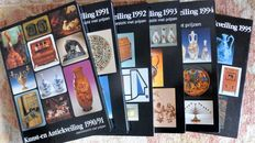 Reference works Antique Auction profits 1991 to 2001.. Author J. and R.Stuurman