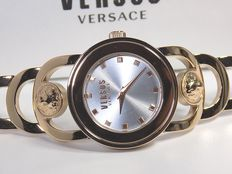 Versus by Versace Gold Plated – Women's wristwatch - In mint condition - 09