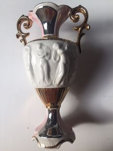 Artistic porcelain vase from the 1950s