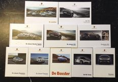 Lot of 10 Porsche catalogues - 1995 to 2015