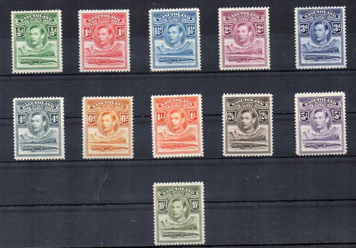 Basutoland/ Bechuanaland 1937/1964 - selection of complete sets