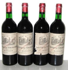 1979 Château La Tour de Mons, Margaux, Lot of 4 bottles