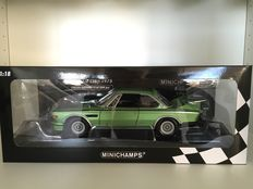 Minichamps - Scale 1/18 - BMW 3.0 CSL 1975 'Green Metallic'