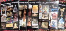 Reference works Antique Auction profits 2002 to 2014.. Author J. and R.Stuurman