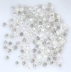 156 Round Brilliant Diamonds – 1.13 ct.