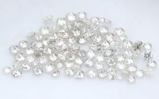 95 Round Brilliant Diamonds – 0.45 ct.