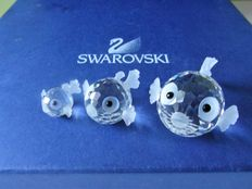 Swarovski - Puffer fish mini - Puffer fish small - Puffer fish large