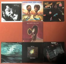 "Billy Cobham: lot of seven LP's ""Shabazz"" ""Live on tour in Europe"" ""Magic"" ""Total eclipse"" ""Crosswinds"" '""Spectrum"" and ""Life and times"""