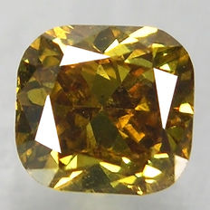 Diamond – Fancy  Brown– 0.215 ct