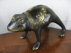 Unknown artist - bronze - decorative frog / toad