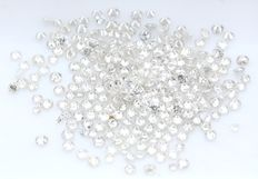 253 Round Brilliant Diamonds – 1.34 ct.