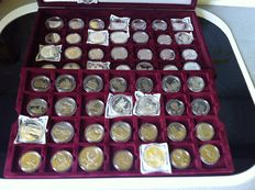 Russia – 57 varying commemorative coins