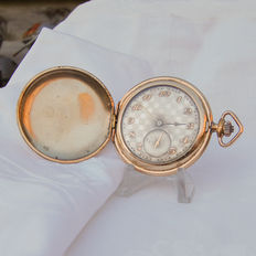 Tellus - Savonette - Pocket watch - Period 1900s