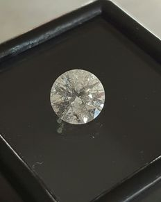 Diamant - 1.08ct - color G , SI3