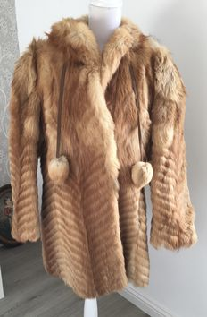 Gea (Ginger) Wolf - fur coat with CITES certificate