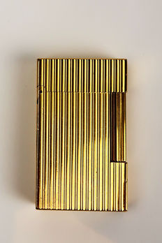 Lighter S.T. Dupont gold plated 'Line 2'