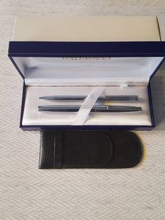 Waterman fountainpen - 18kr gold nib and ballpoint