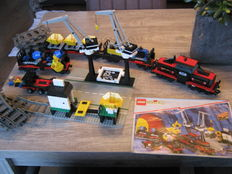 Trains 9V - 4565 - Freight and Crane Railway