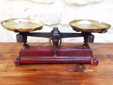 Ancient two pan balance scale