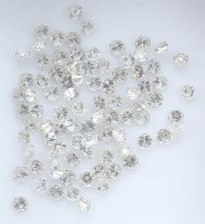 86 Round Brilliant Diamonds – 0.65 ct.