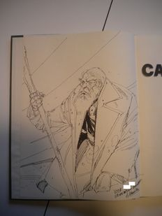 Schuiten, François - Original commission drawing - Carapaces - hc - 1st edition - (1982)
