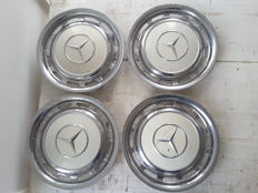 Mercedes hubcaps late 20th century