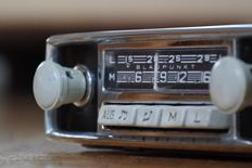 Blaupunkt Bremen car radio from 1965 for Porsche and Volkswagen