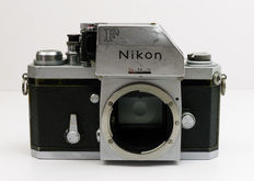 The Mighty Nikon F, with Photomic viewfinder, Grid Ground glass and Soft-Release AR-1.