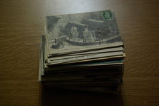 France-Normandy-first half of 900-250 small-format postcards