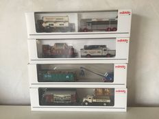 Märklin H0 - Museum carriages of 2003, 2004, 2011 and 2015
