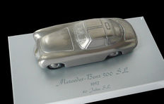 Mercedes-Benz 300 SL 1952 - 40 years anniversary model in solid aluminia from Mercedes-Benz Klassik Serie, 1:43, Limited edition no. 1303