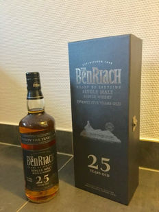 Benriach 25 years old - 50%